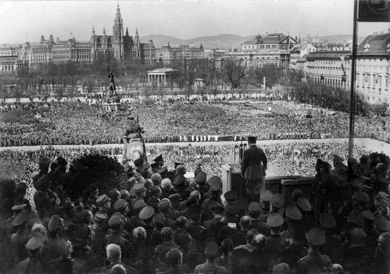 sport e nazismo adunata a Vienna
