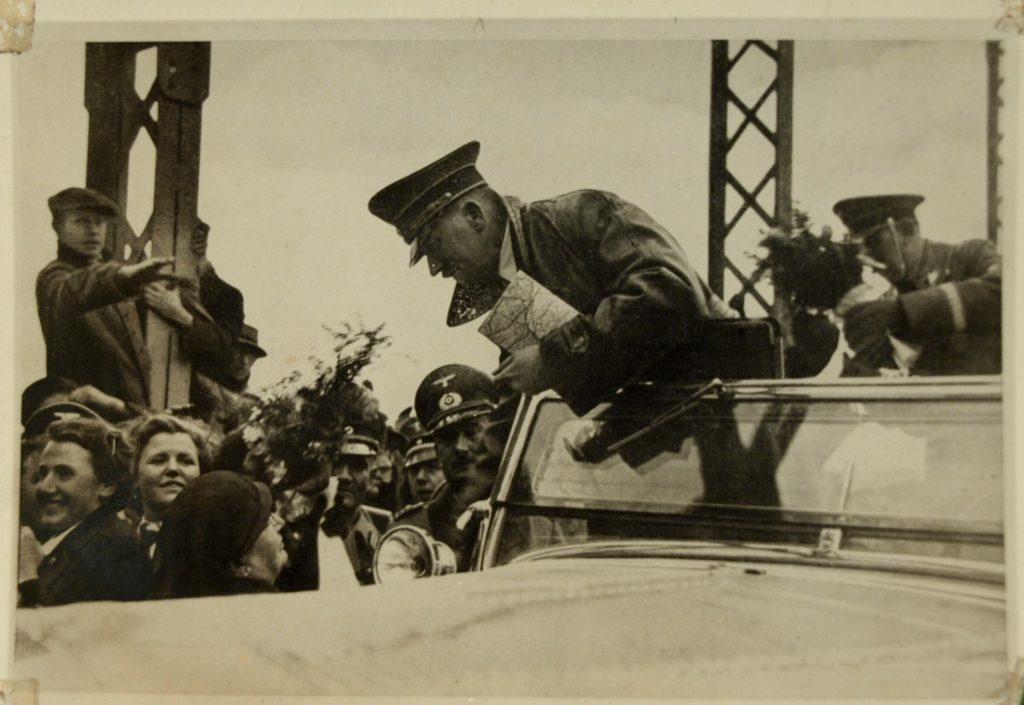 sport e nazismo hitler