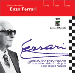 Questo era Enzo Ferrari - copertina del video in dvd