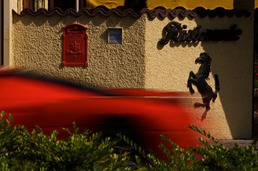"Enzo Ferrari Maranello: la ""Enzo"", vettura dedicata a Enzo Ferrari, per le vie di Maranello"