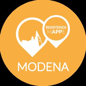 app storia: il logo di Resistenza mAPPe Modena