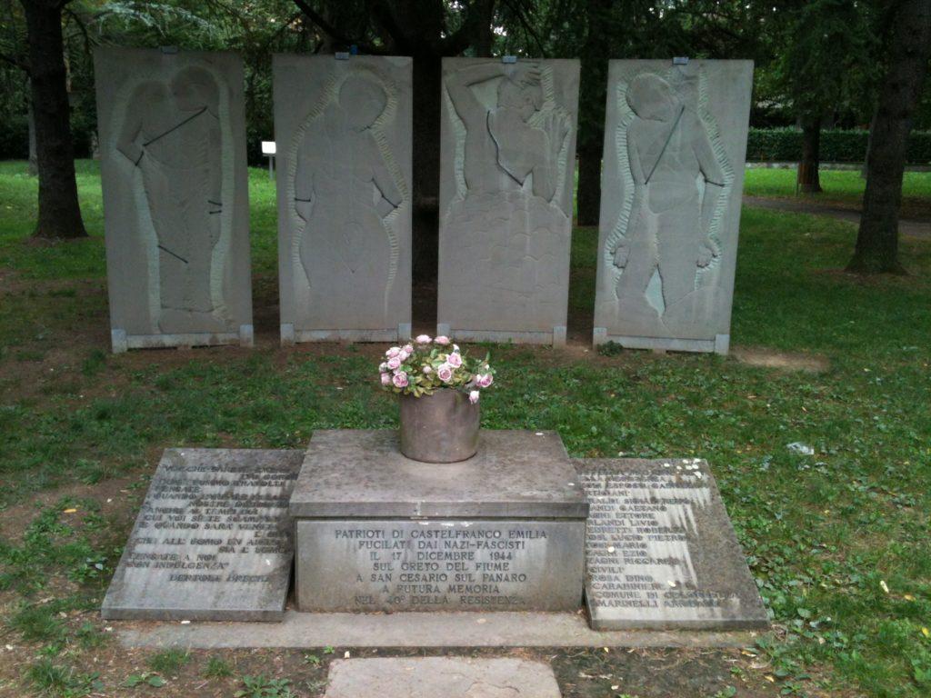 San Cesario monumento stragi fasciste e naziste