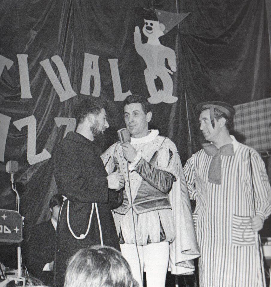 Master in Public History: Padre Sebastiano Bernardini e Cino Tortorella sul palco del teatro San Francesco di Sassuolo