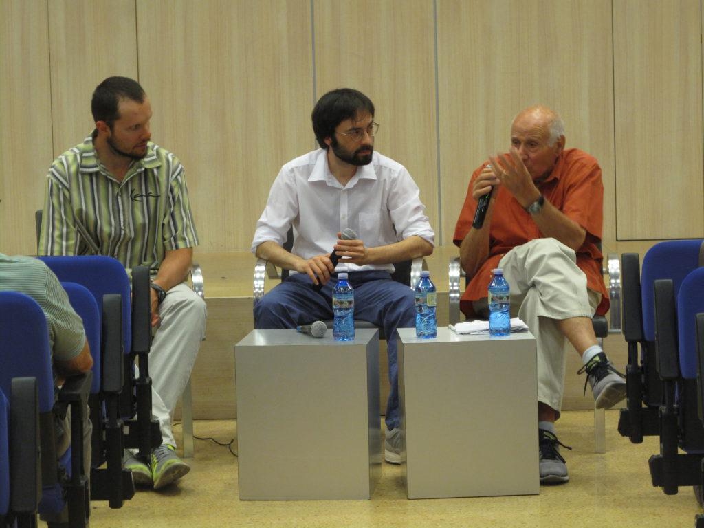 Ricordi e memorie di Agostino Rota durante l'iniziativa su antifascismo e Resistenza a Carpi.