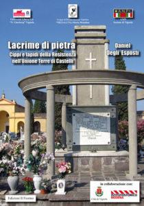 La copertina del saggio storico sui luoghi della memoria Lacrime di pietra.