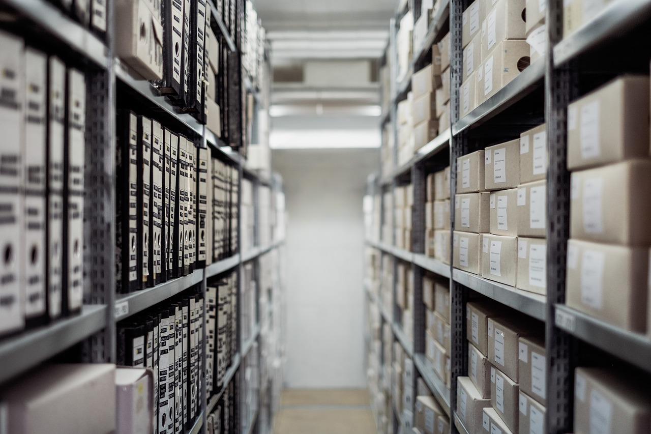 ricerca storica in archivio