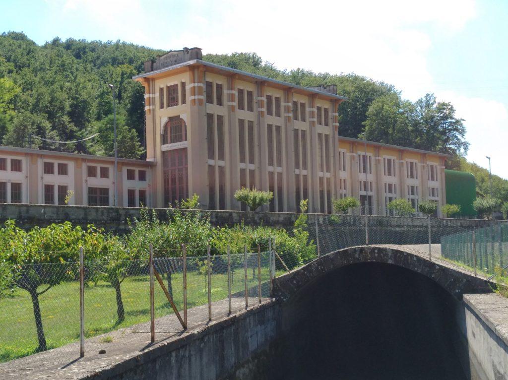 La Centrale idroelettrica di Farneta.