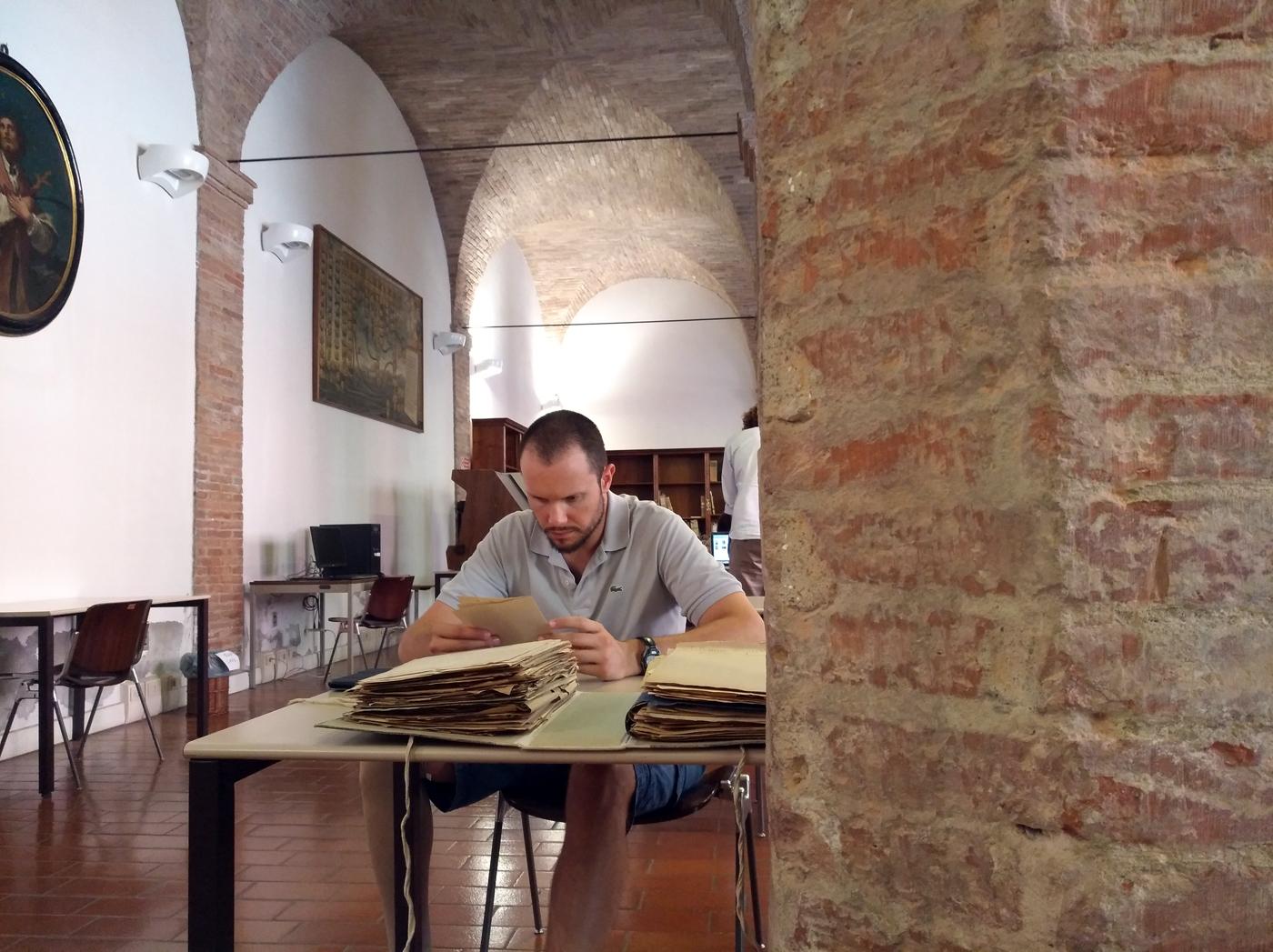 ricerca storica al'archivio di stato di Bologna