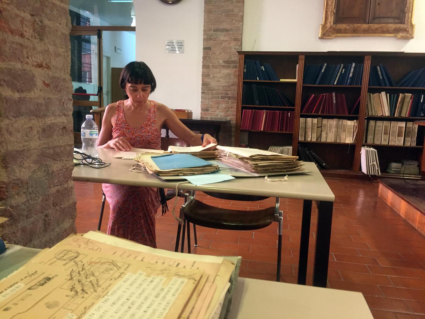 ricerca storica all'archivio di stato di Bologna