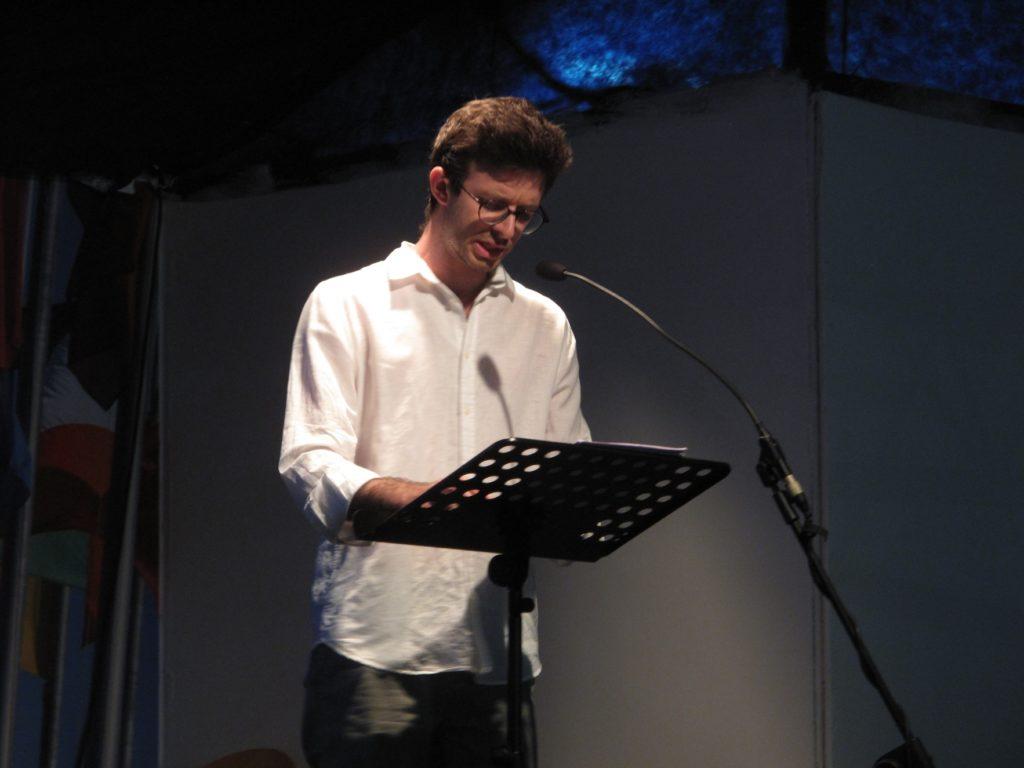a casa nostra - Giovanni Galli legge la Cronaca di Adamo Pedrazzi