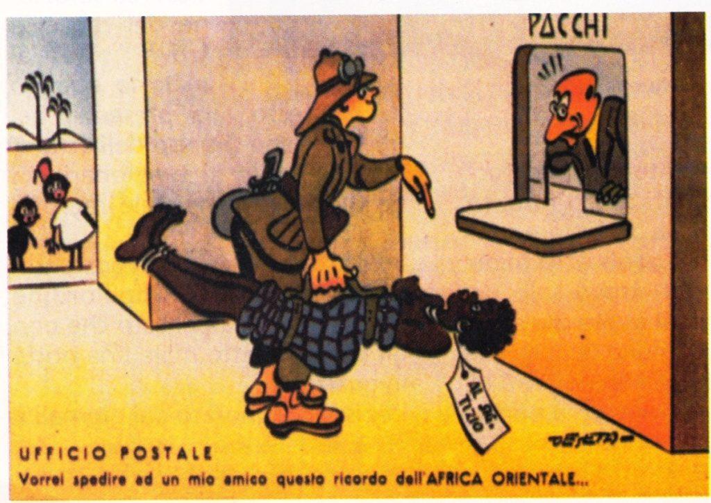 a casa nostra - vignetta sul colonialismo fascista