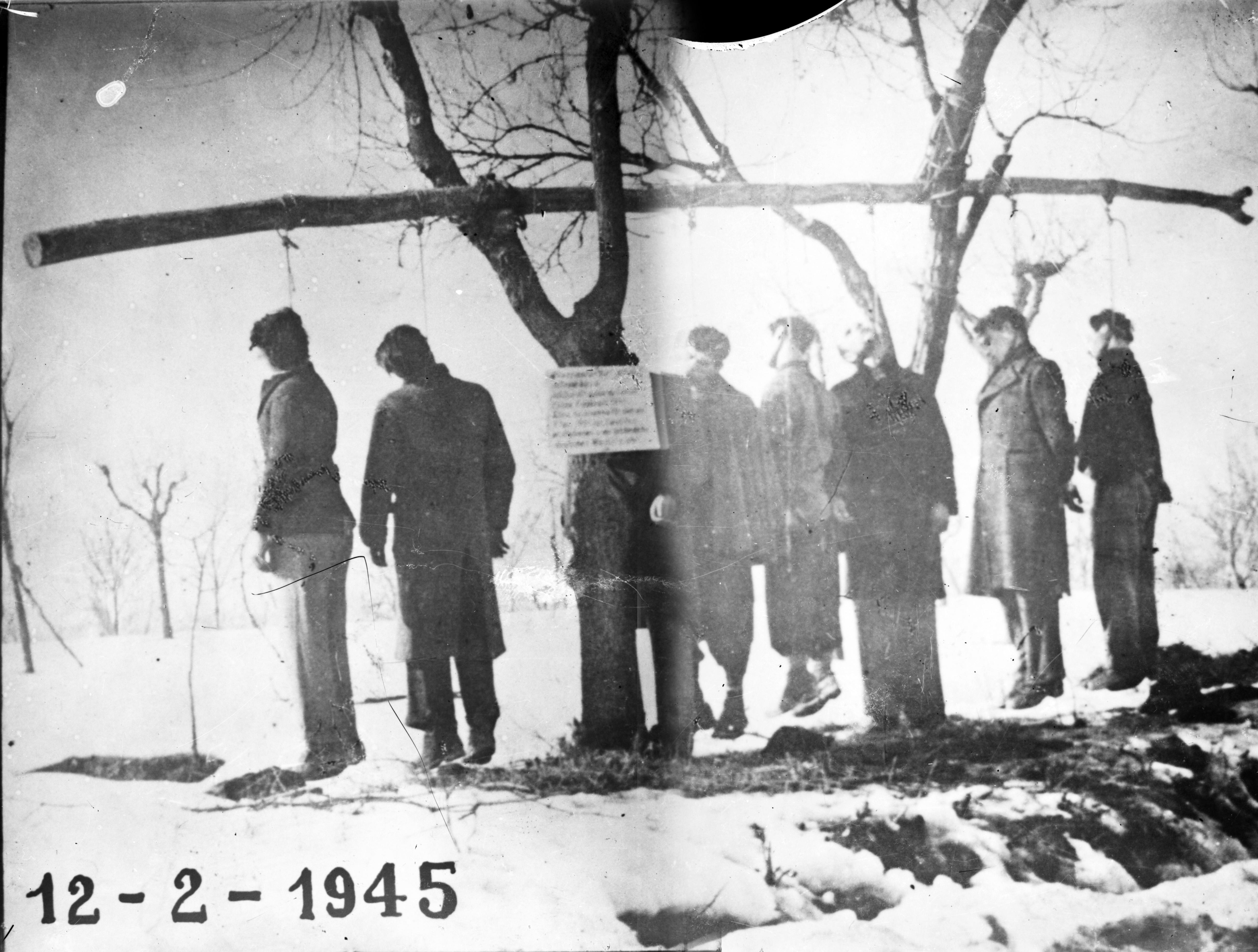 Il fascismo uccide: gli impiccati di Pratomaggiore