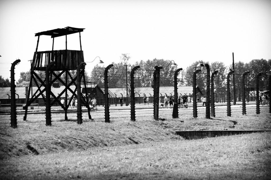 """Il fascismo uccide. I fascismi europei """"perfezionano"""" i sistemi concentrazionari (campi di prigionia, lavoro e sterminio) per sostenere la costruzione dell'Uomo nuovo, un obiettivo che collegano all'affermazione di una presunta razza superiore."""