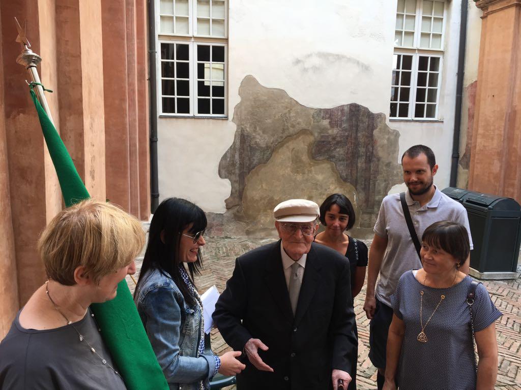 Commemorazione dell'8 settembre a Sassuolo