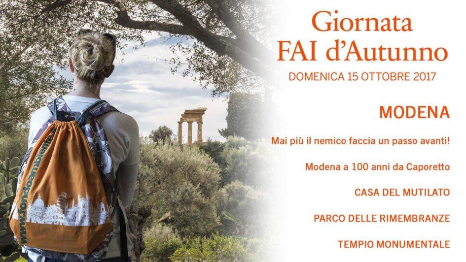Giornata d'autunno FAI Modena