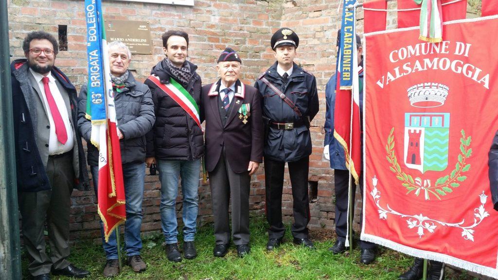L'intitolazione del rifugio antiaereo di Bazzano a Mario Anderlini