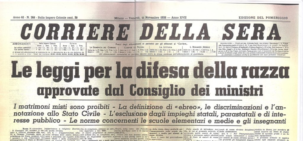 Giorno della memoria Sassuolo