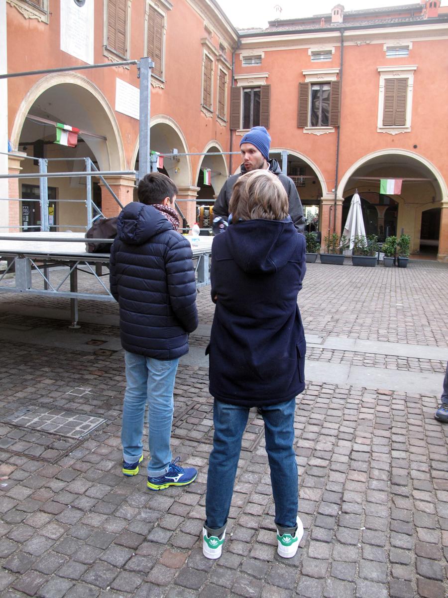 confine orientale: camminata storica a Sassuolo