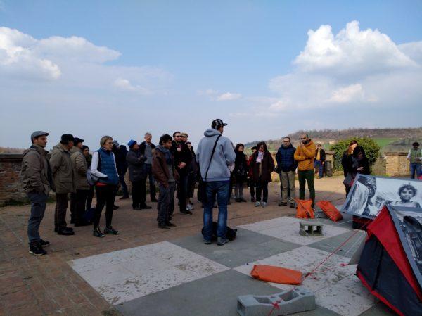 storie di profughi a Castelvetro