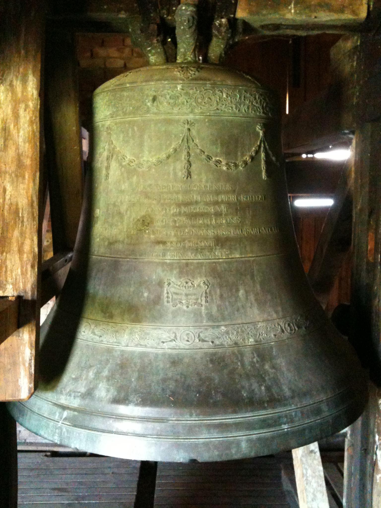 Bombardamento di Festà: Una delle campane della torre di Festà