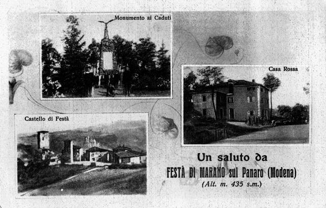 Bombardamento di Festà: Cartoline di Festà, stampate nel secondo dopoguerra