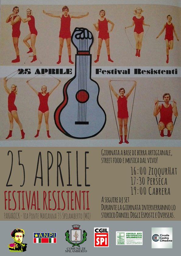 Festival Resistenti: 25 aprile provincia di Modena