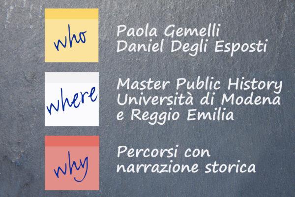 public history seminario