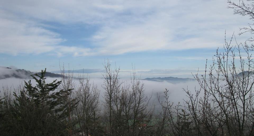 Panorama da Saltino di Prignano