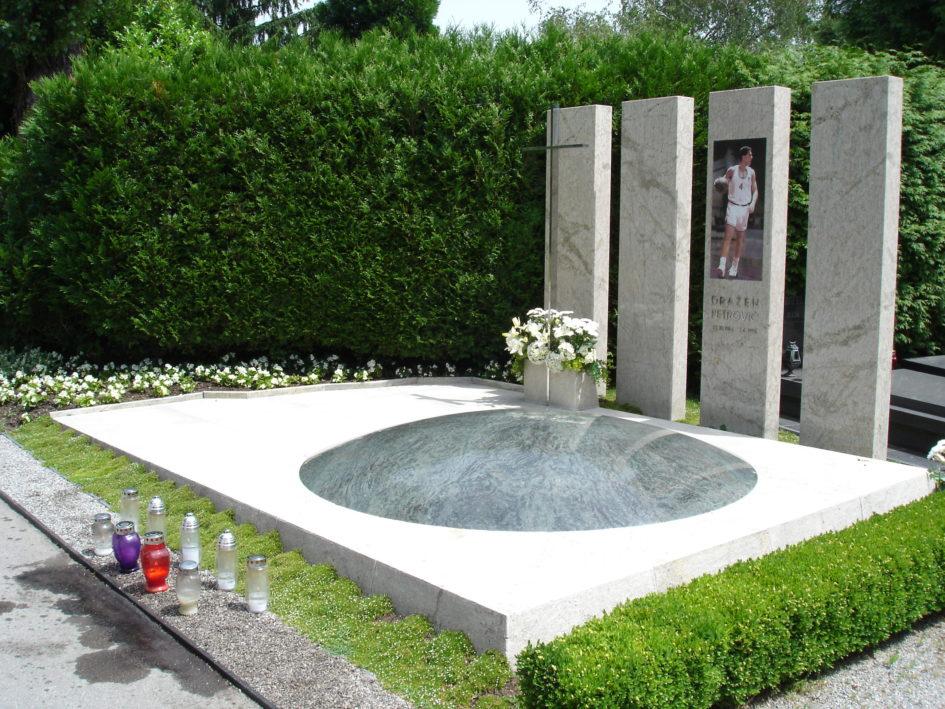 Tomba di Drazen Petrovic