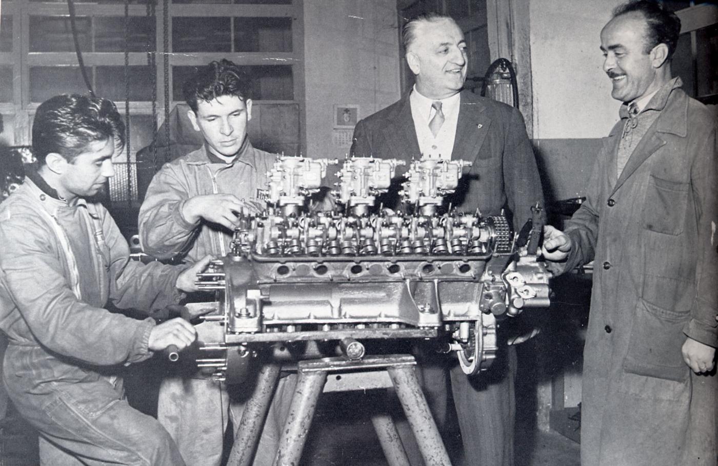 ferrari maranello: Enzo Ferrari a. scuola