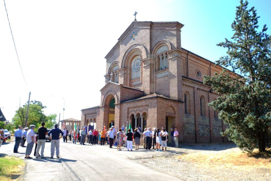La commemorazione della strage di Ospitaletto nel 2016. Foto di Fausto Corsini
