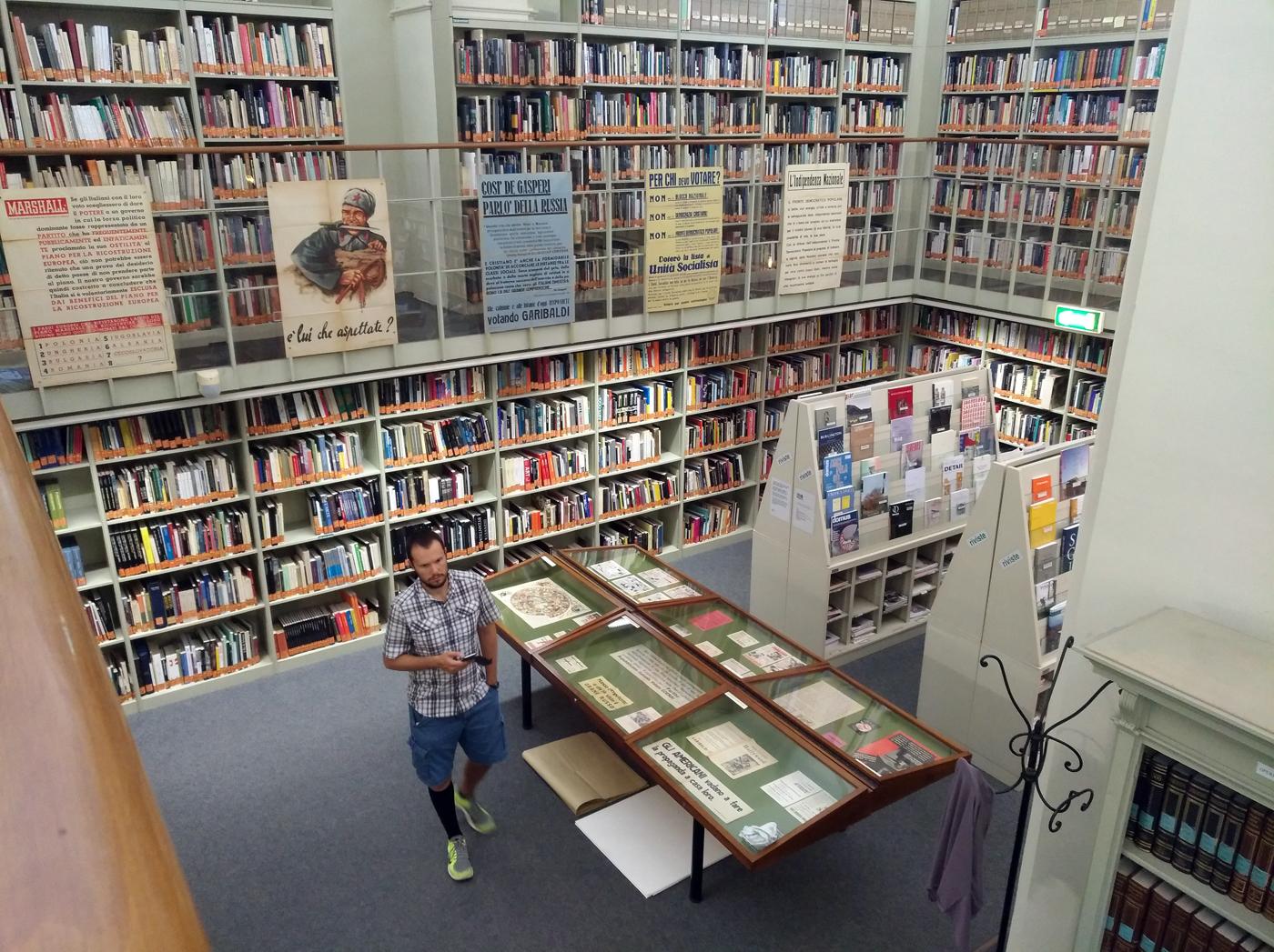 Energie diffuse. La sezione della mostra 1948 Italia al bivio allestita presso la Biblioteca Poletti