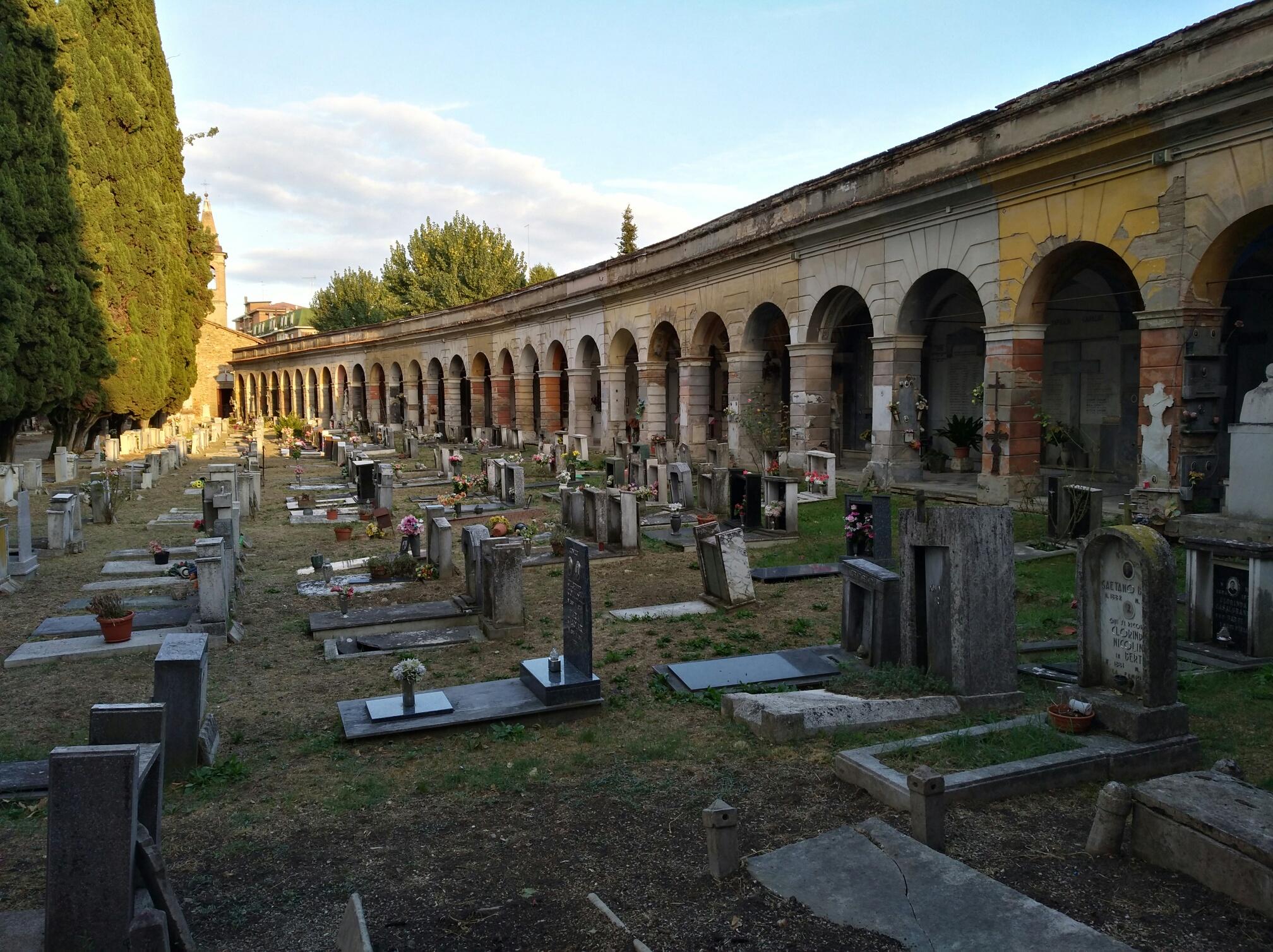 Sassuolo Grande Guerra: il cimitero monumentale di San Prospero