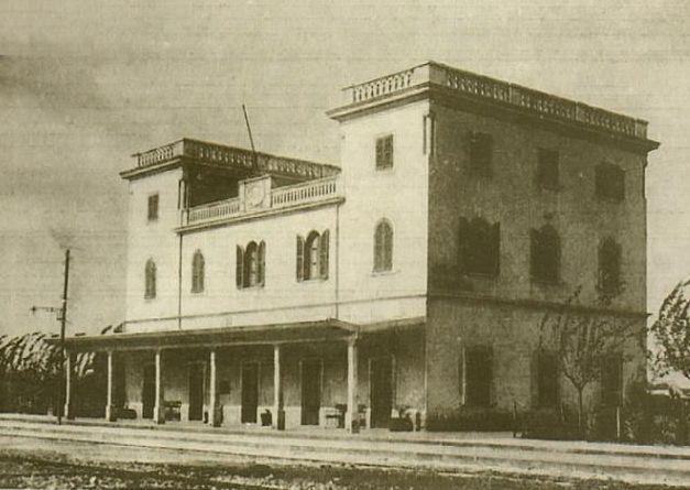 La stazione ferroviaria di Barca negli anni Trenta. Foto via Wikimedia Commons - ebrei nella seconda guerra mondiale