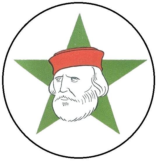 Il simbolo del Fronte democratico popolare (PCI, PSI e altre forze minori) per le elezioni politiche del 1948. Mario Ricci
