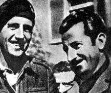 A destra, Mario Ricci
