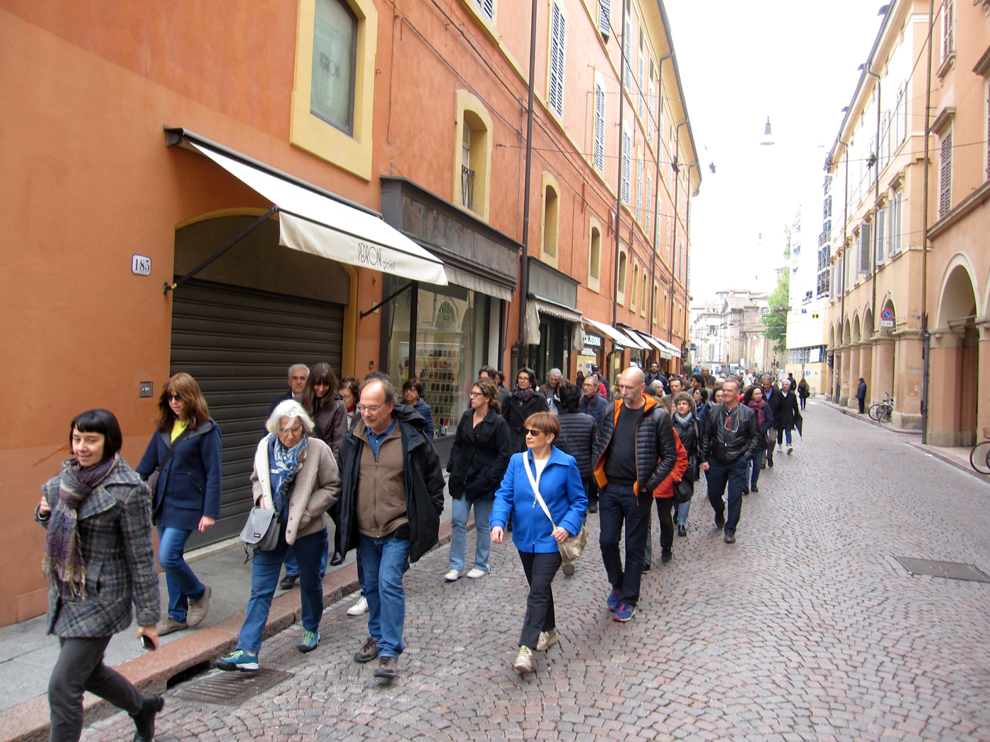 Per le strade della libertà 25 aprile a Modena