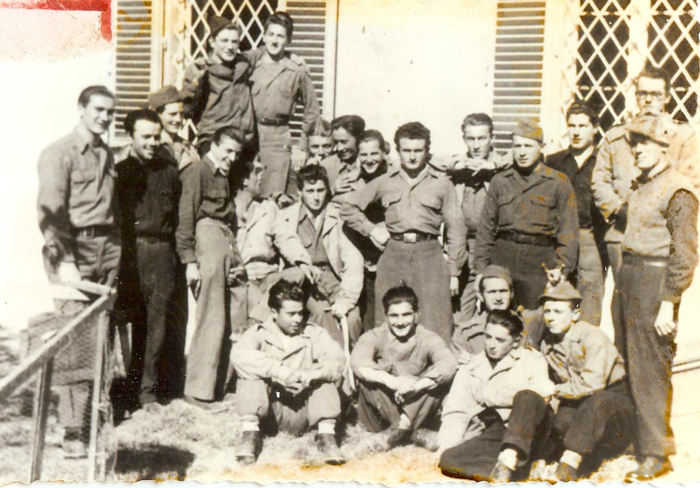 Gruppo di partigiani pavullesi. Foto della sezione ANPI di Pavullo nel Frignano - battaglia di Benedello