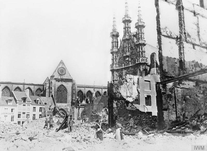Lovanio nel 1914 - viaggio in Belgio Prima guerra mondiale