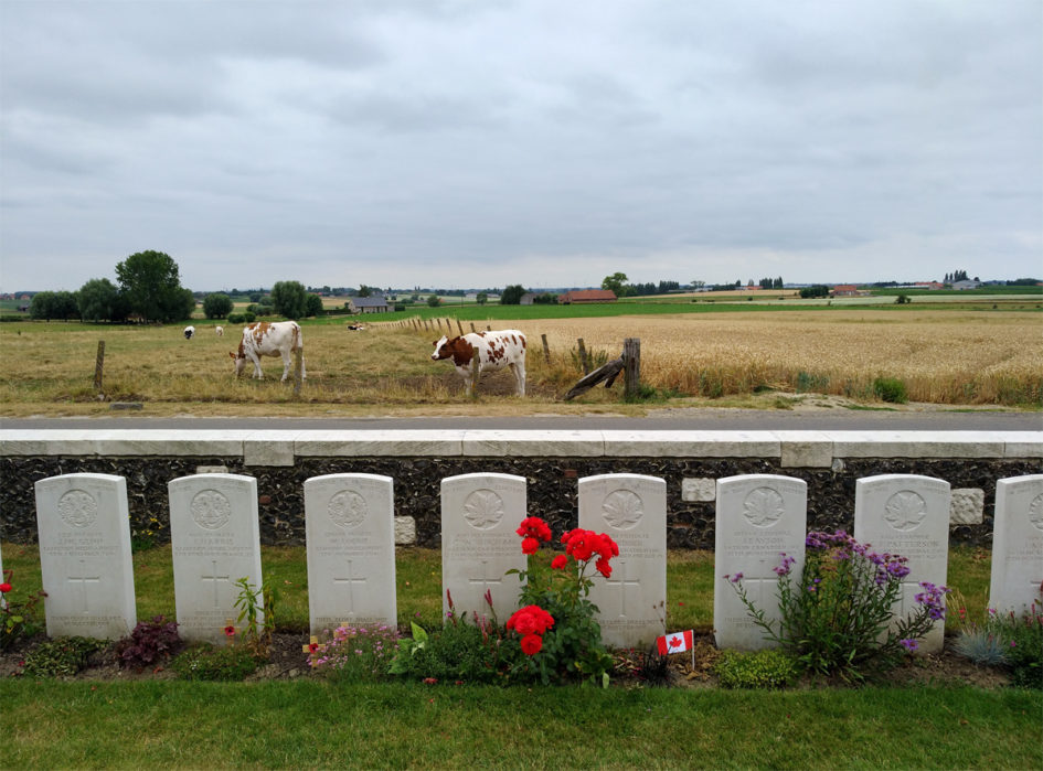 Viaggio in Belgio Prima guerra mondiale: cimitero di Tyne Cot