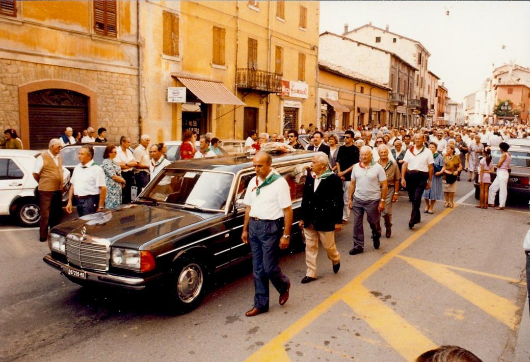 """I funerali di Mario Ricci. Foto tratta dalla mostra Mario Ricci """"Armando"""" dal mito alla storia"""