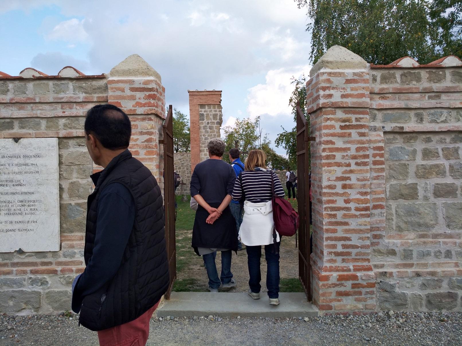 Il cimitero di Casaglia oggi - strage di Marzabotto
