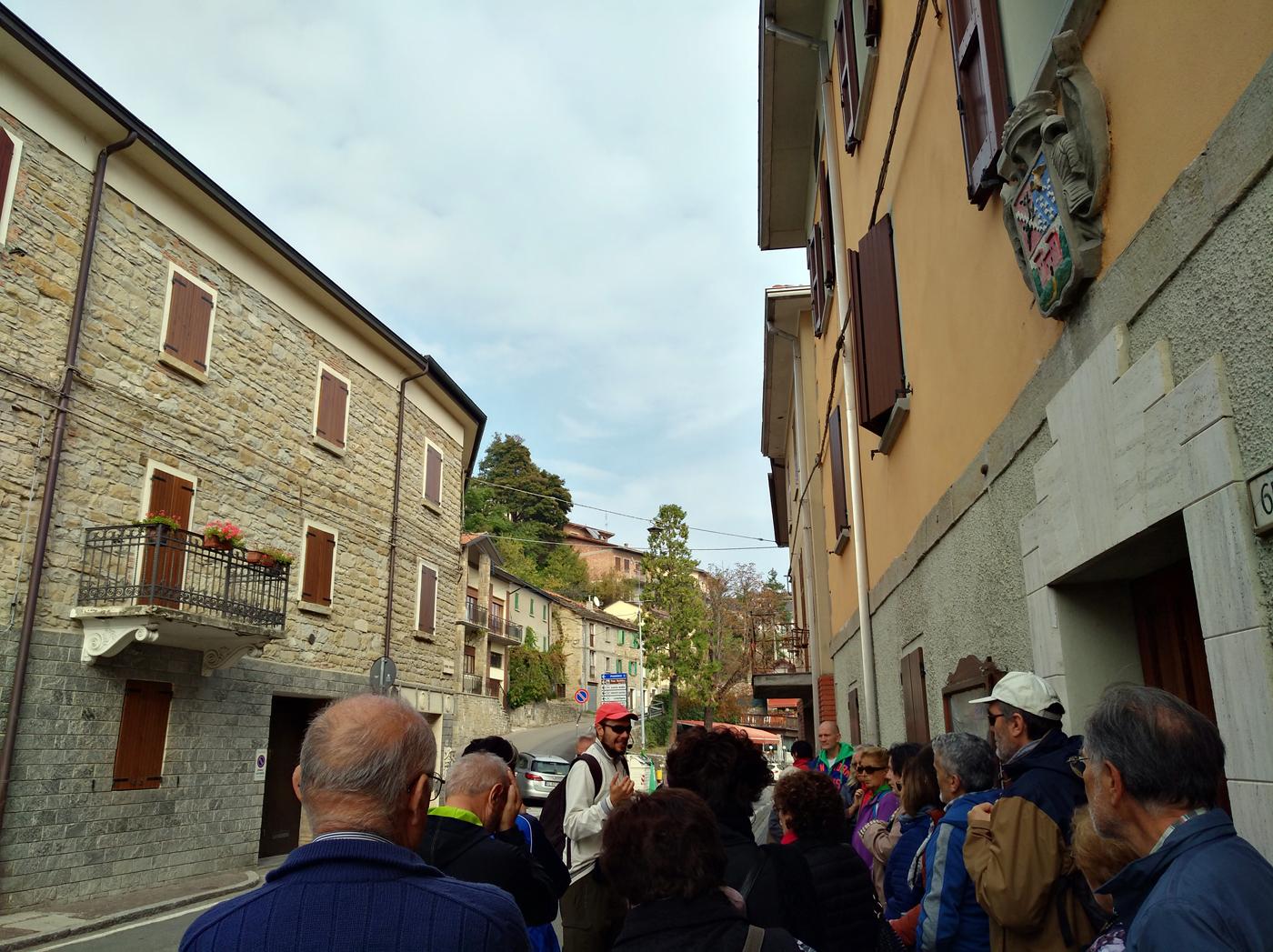 Resistenza Appennino reggiano - La tappa narrativa sulla zona libera di Montefiorino. Foto di Paola Gemelli