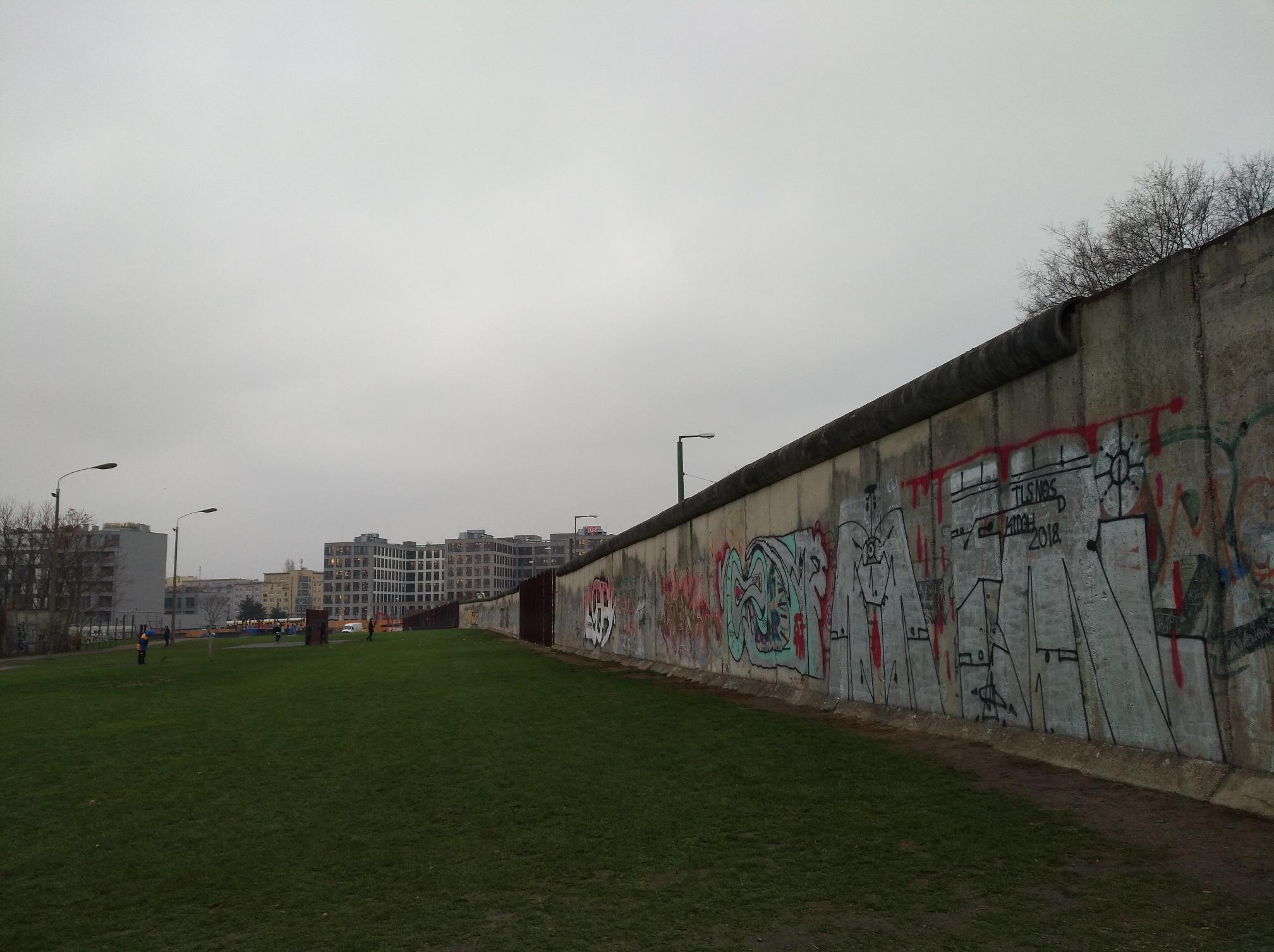 Resti del muro a Berlino. Foto di Paola Gemelli - caduta del muro di Berlino
