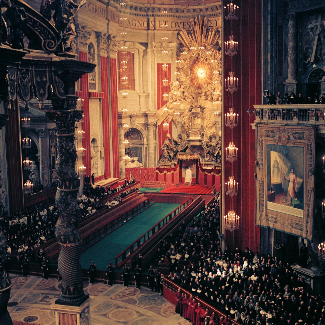 Storia del cristianesimo. Il Concilio Vaticano II in una foto di Lothar Wolleh [CC-BY-SA 3.0]