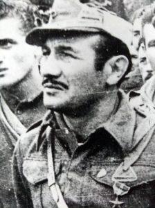 Il comandante partigiano Giuseppe Barbolini