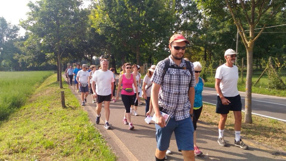 La camminata della Costituzione lungo la pista ciclabile tra Castelnuovo Rangone e Montale