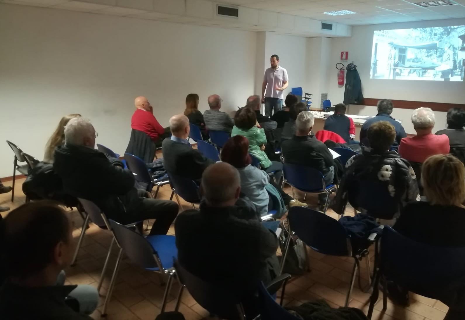 Una lezione del corso Le radici storiche del presente nel Quartiere Madonnina