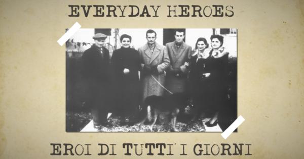Everyday Heroes - videoracconto sulle vicende dei prigionieri Alleati in Italia Alan Flederman e Ken Lee, salvati dalle famiglie di Spilamberto