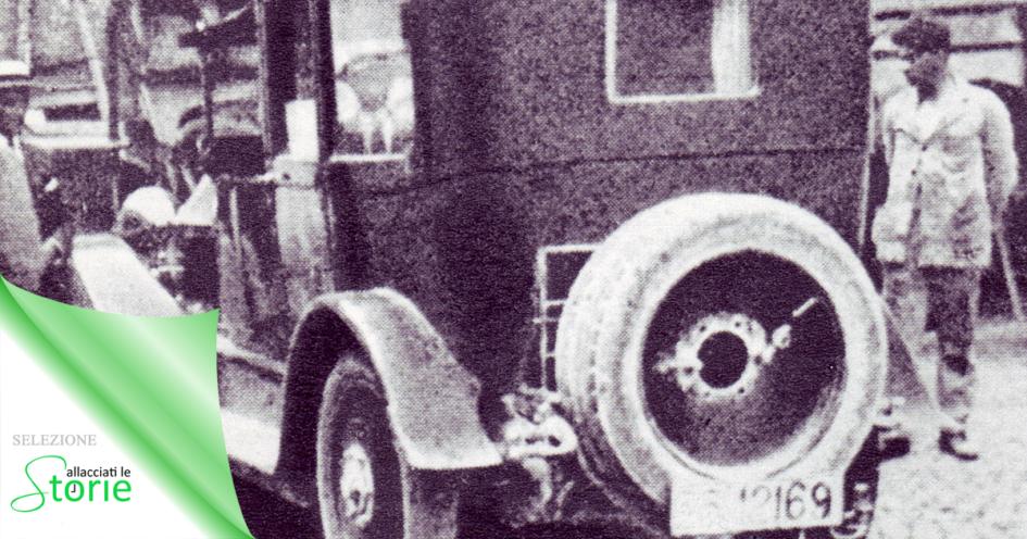 La Lancia Lambda sulla quale i rapitori caricano Giacomo Matteotti il 10 giugno 1924 - Delitto Matteotti